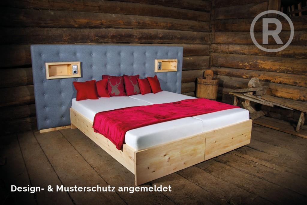 zirbenbett aktuelles aus der tischlerei buchsteiner in salzburg. Black Bedroom Furniture Sets. Home Design Ideas