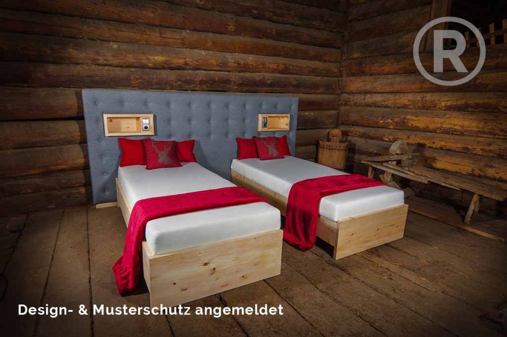 zirbenbett aktuelles aus der tischlerei buchsteiner in. Black Bedroom Furniture Sets. Home Design Ideas