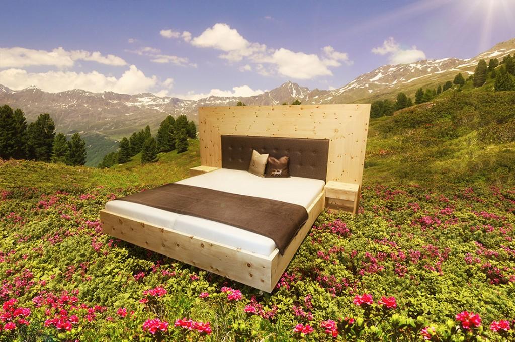 zirbenbett aktuelles aus der tischlerei buchsteiner in. Black Bedroom Furniture Sets. Home Design Ideas