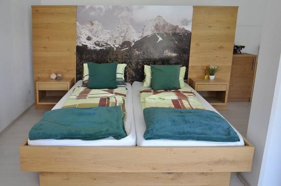 Schlafzimmer vom Tischler - Doppelbett Abverkauf - Tischlerei Buchsteiner